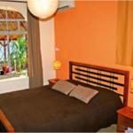 Chambre 1 de la villa Case Paradis