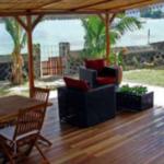Terrasse de la villa Case Paradis Ile Maurice